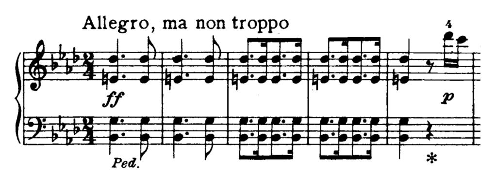 Beethoven Piano Sonata No.23 in F minor, Op.57 'Appassionata' Analysis 3