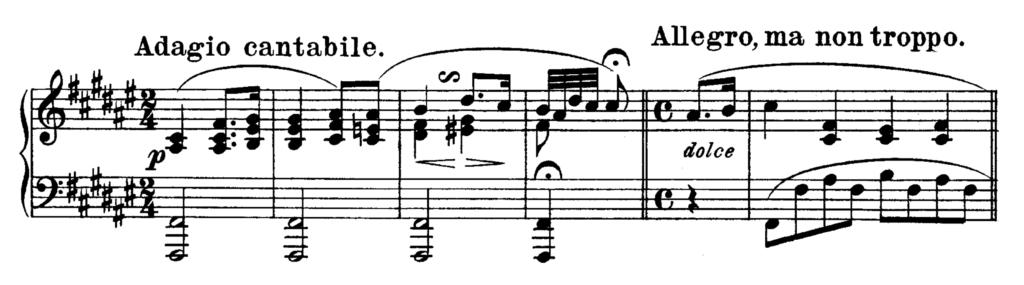 Beethoven Piano Sonata No.24 in F# major, Op.78 Analysis 1