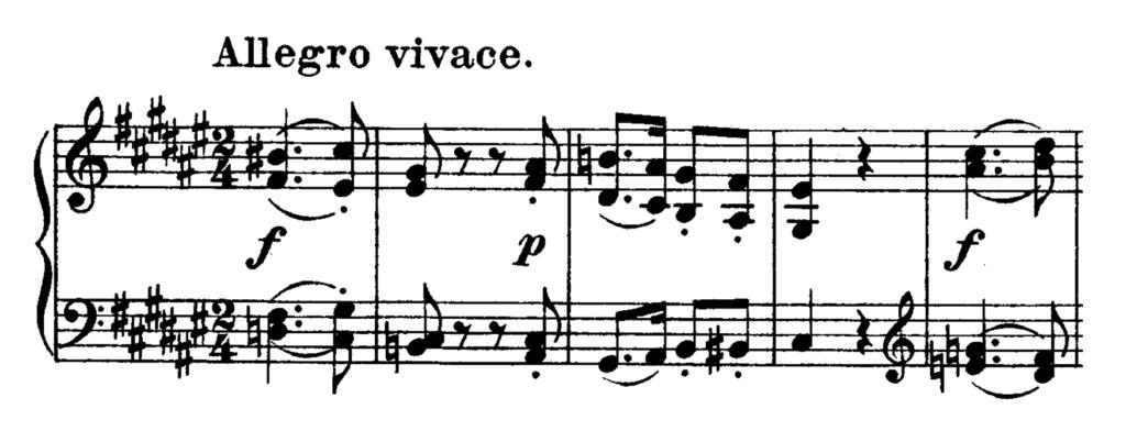 Beethoven Piano Sonata No.24 in F# major, Op.78 Analysis 2