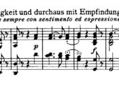 Beethoven Piano Sonata No.27 in E minor, Op.90 Analysis 1