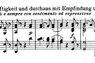 Beethoven: Piano Sonata No 27 in E minor Analysis