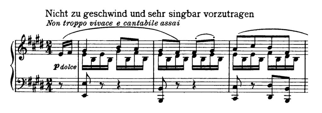 Beethoven Piano Sonata No.27 in E minor, Op.90 Analysis 2
