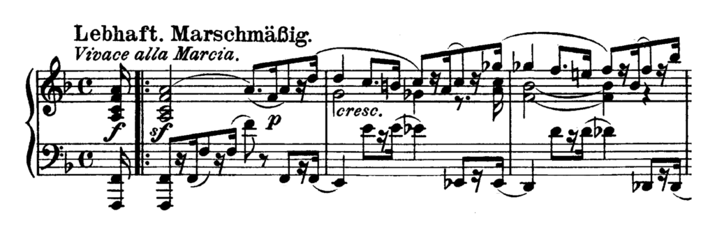 Beethoven Piano Sonata No.28 in A major, Op.101 Analysis 2