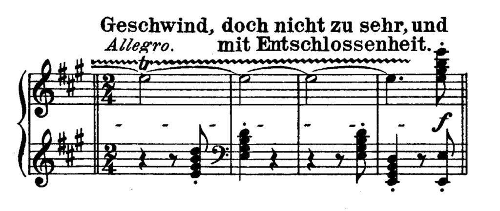 Beethoven Piano Sonata No.28 in A major, Op.101 Analysis 4