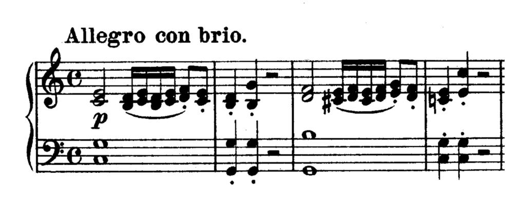 Beethoven Piano Sonata No.3 in C major, Op.2 No.3 Analysis 1