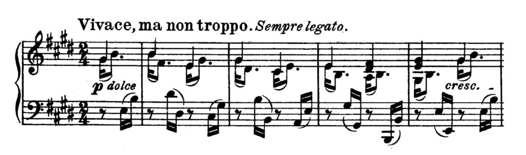 Beethoven Piano Sonata No.30 in E major, Op.109 Analysis 1