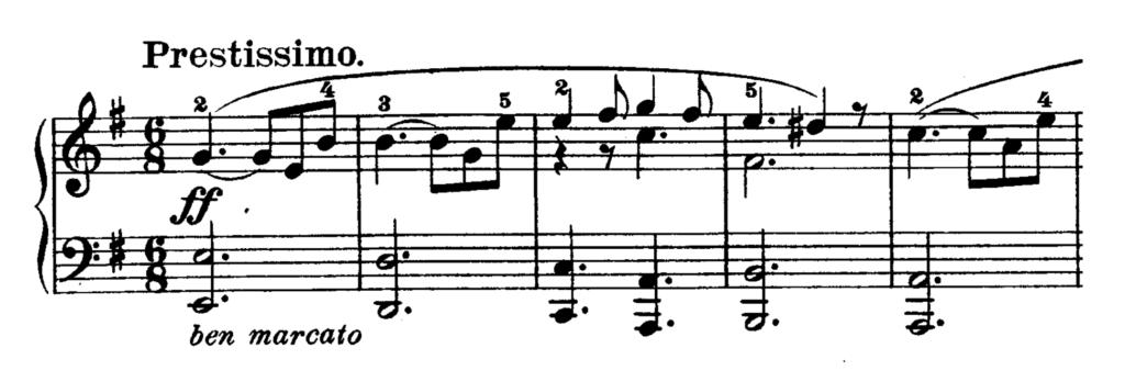 Beethoven Piano Sonata No.30 in E major, Op.109 Analysis 2