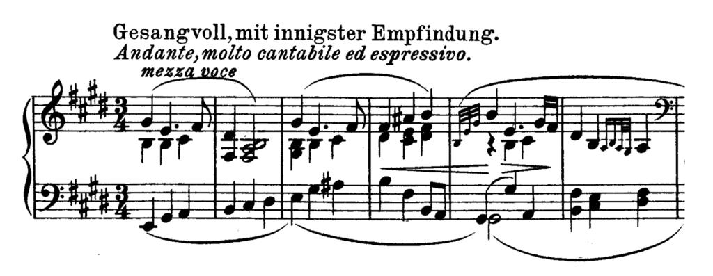 Beethoven Piano Sonata No.30 in E major, Op.109 Analysis 3