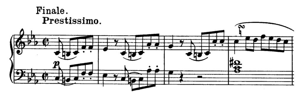Beethoven Piano Sonata No.5 in C minor, Op.10 No.1 Analysis 3