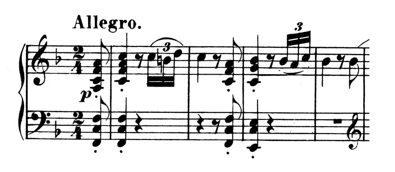 Beethoven Piano Sonata No.6 in F major, Op.10 No.2 Analysis 1