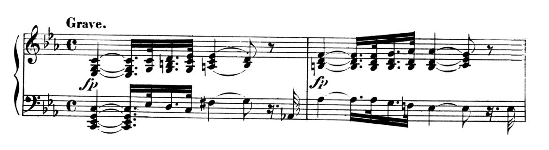 Beethoven Piano Sonata No.8 in C minor, Op.13 'Pathetique' Analysis 1