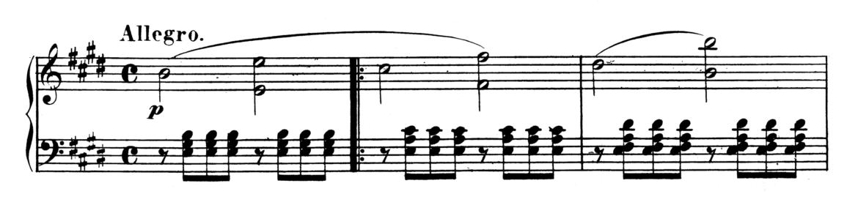 Beethoven Piano Sonata No.9 in E major, Op.14 No.1 Analysis 1