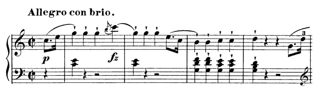 Haydn Piano Sonata in C Major Hob. XVI.35 Analysis 1