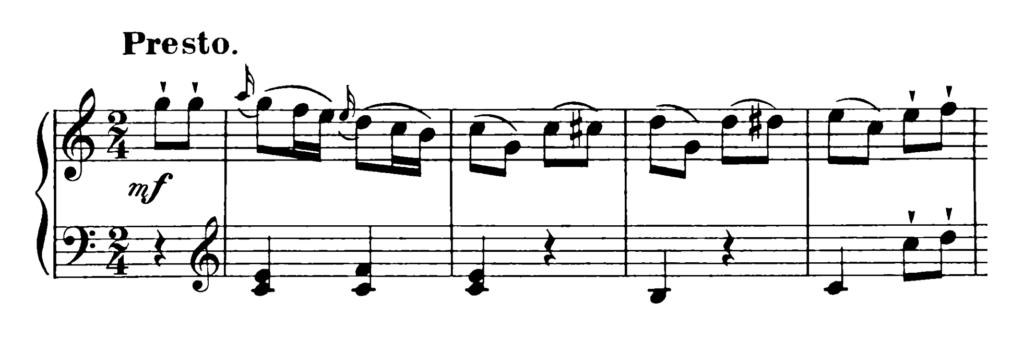 Haydn Piano Sonata in C Major Hob. XVI.48 Analysis 2