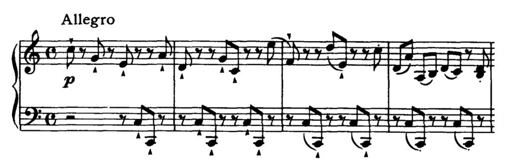 Haydn Piano Sonata in C Major Hob. XVI.50 Analysis 1