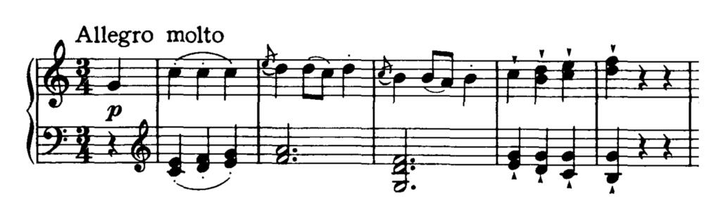 Haydn Piano Sonata in C Major Hob. XVI.50 Analysis 3