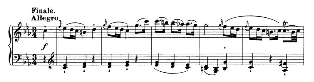 Haydn Piano Sonata in C minor Hob.XVI 20 Analysis 2