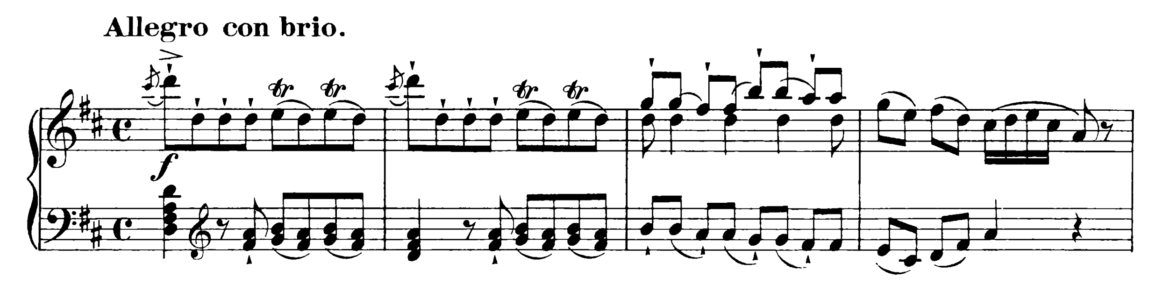 Haydn Piano Sonata in D Major Hob. XVI.37 Analysis 1