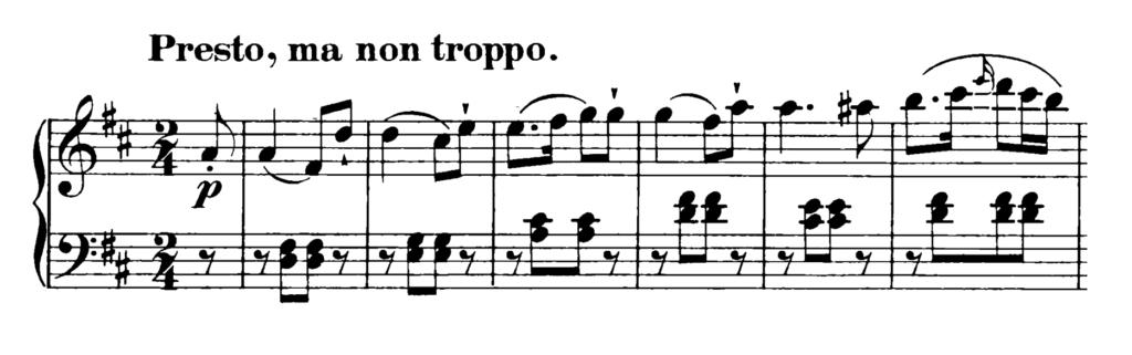Haydn Piano Sonata in D Major Hob. XVI.37 Analysis 3