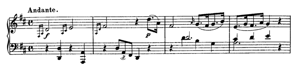 Haydn Piano Sonata in D Major Hob. XVI.51 Analysis 1
