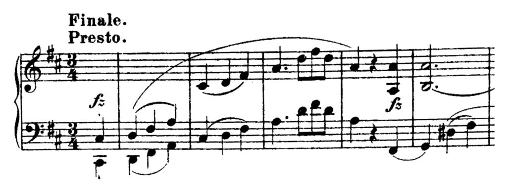 Haydn Piano Sonata in D Major Hob. XVI.51 Analysis 2