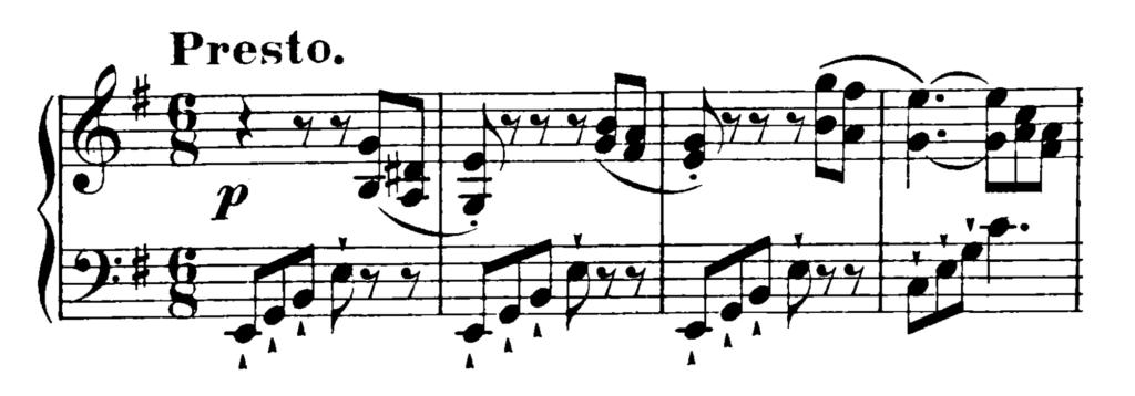 Haydn Piano Sonata in E Minor Hob. XVI.34 Analysis 1