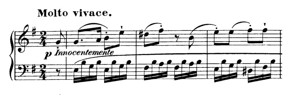 Haydn Piano Sonata in E Minor Hob. XVI.34 Analysis 3
