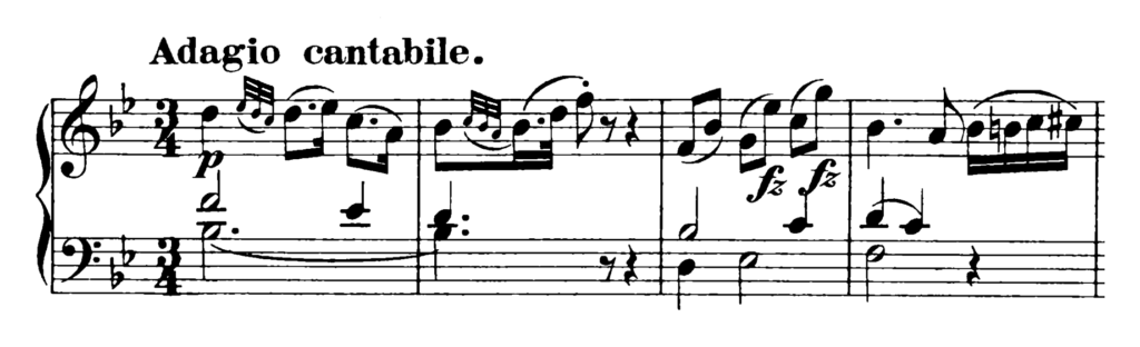 Haydn Piano Sonata in Eb Major Hob. XVI.49 Analysis 2