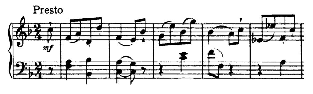 Haydn Piano Sonata in F major Hob. XVI.23 Analysis 3