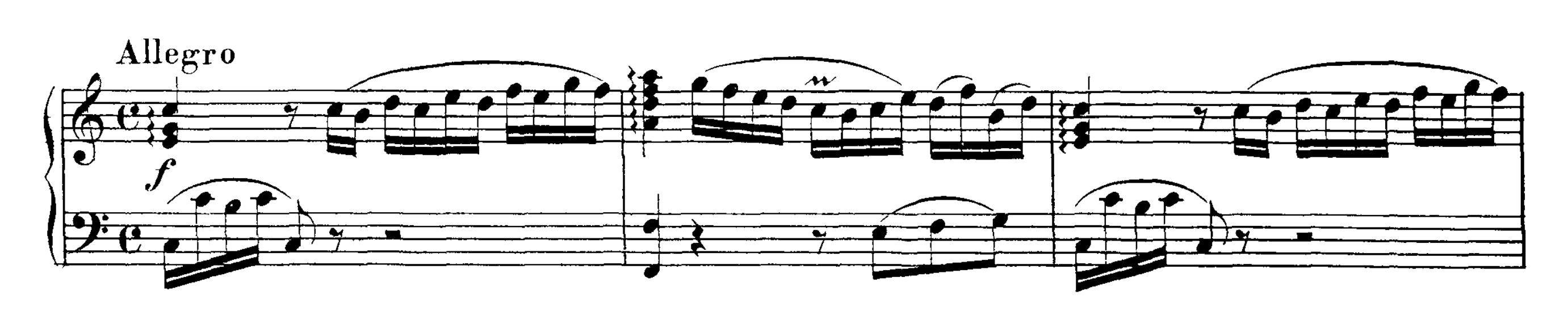 Mozart: Piano Sonata No 1 in C major, K 279 Analysis