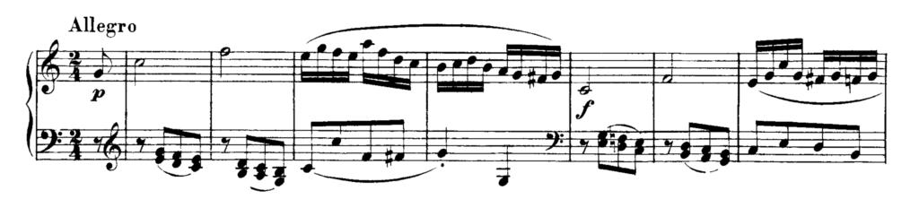 Mozart Piano Sonata No.1 in C major, K.279 Analysis 3