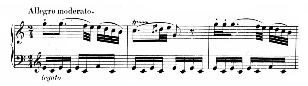 Mozart Piano Sonata No.10 in C major, K.330 Analysis 1