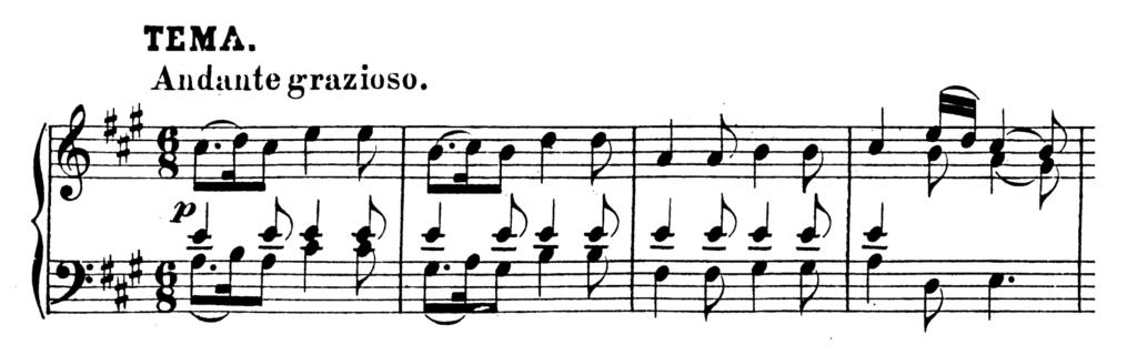 Mozart Piano Sonata No.11 in A major, K.331 Analysis 1