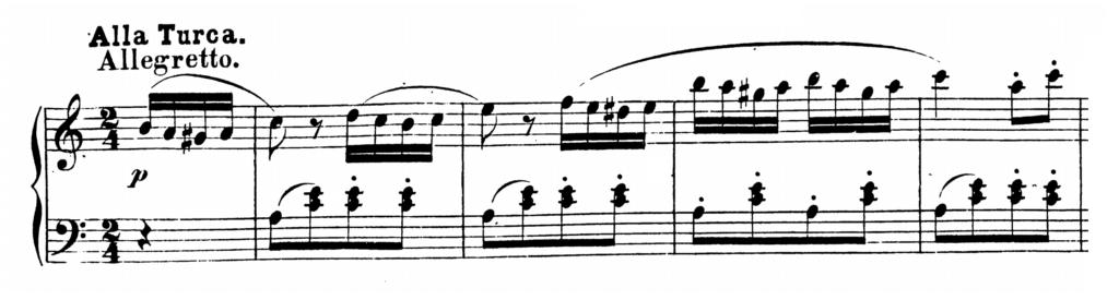 Mozart Piano Sonata No.11 in A major, K.331 Analysis 3