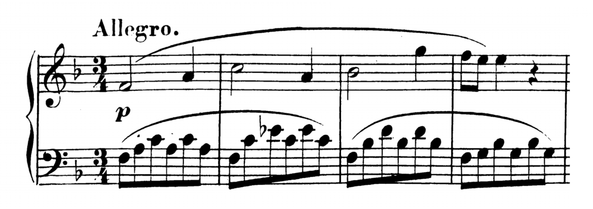 Mozart Piano Sonata No.12 in F major, K.332 Analysis 1