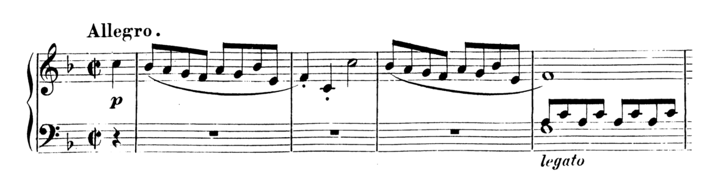 Mozart Piano Sonata No.15 in F major, K.533 Analysis 1