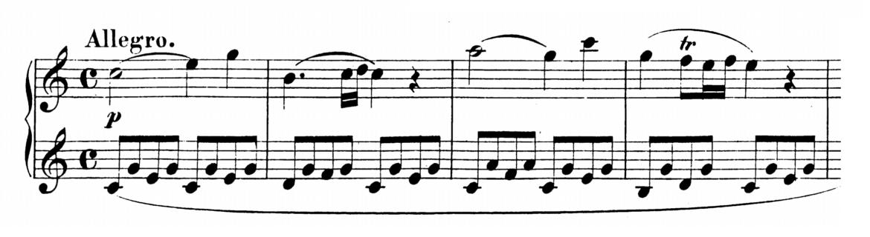 Mozart Piano Sonata No.16 in C major, K.545 Analysis 1