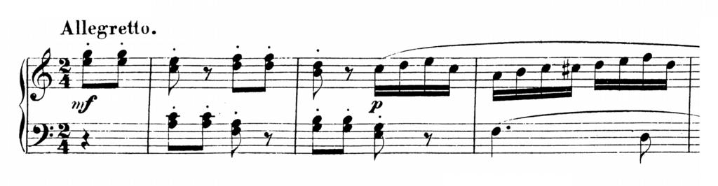 Mozart Piano Sonata No.16 in C major, K.545 Analysis 3