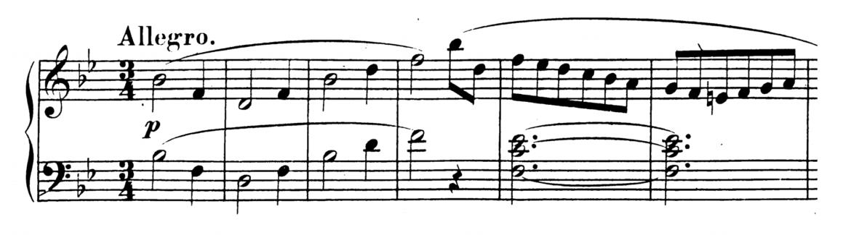 Mozart Piano Sonata No.17 in Bb major, K.570 Analysis 1