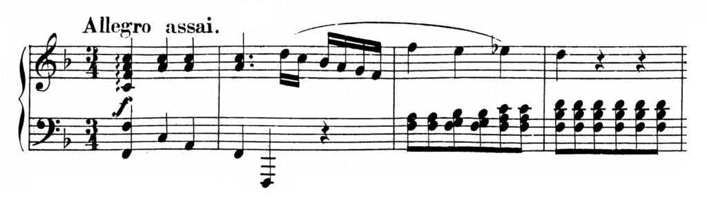 Mozart Piano Sonata No.2 in F major, K.280 Analysis 1