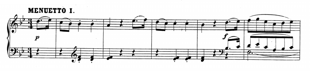 Mozart Piano Sonata No.4 in Eb major, K.282 Analysis 2.1