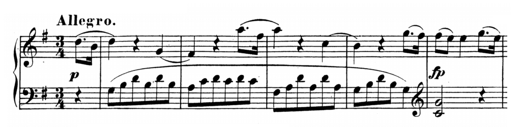 Mozart Piano Sonata No.5 in G major, K.283 Analysis 1