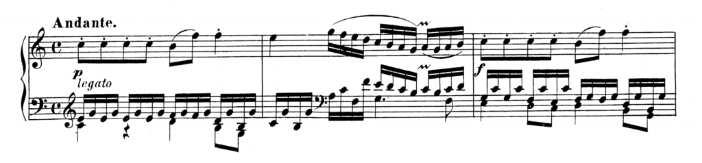 Mozart Piano Sonata No.5 in G major, K.283 Analysis 2