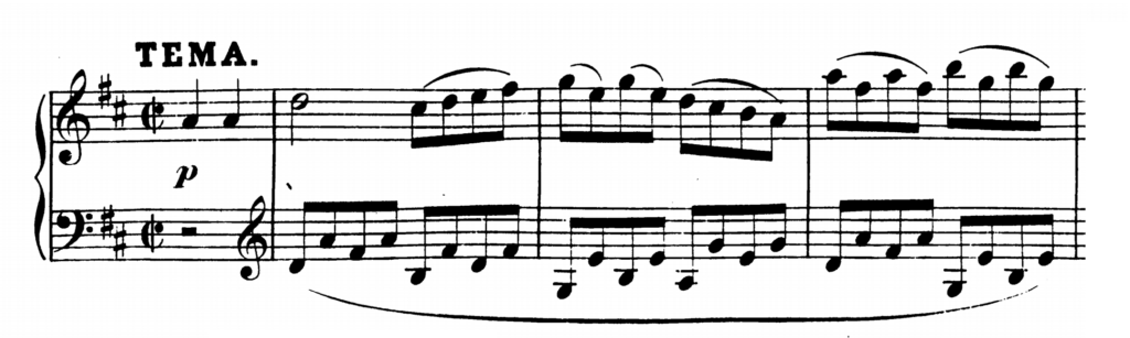 Mozart Piano Sonata No.6 in D major, K.284 Analysis 3