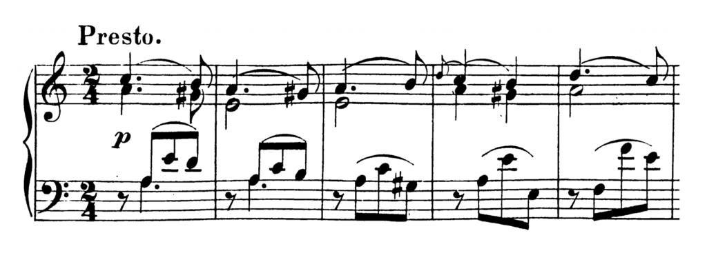 Mozart Piano Sonata No.8 in A minor, K.310 Analysis 3