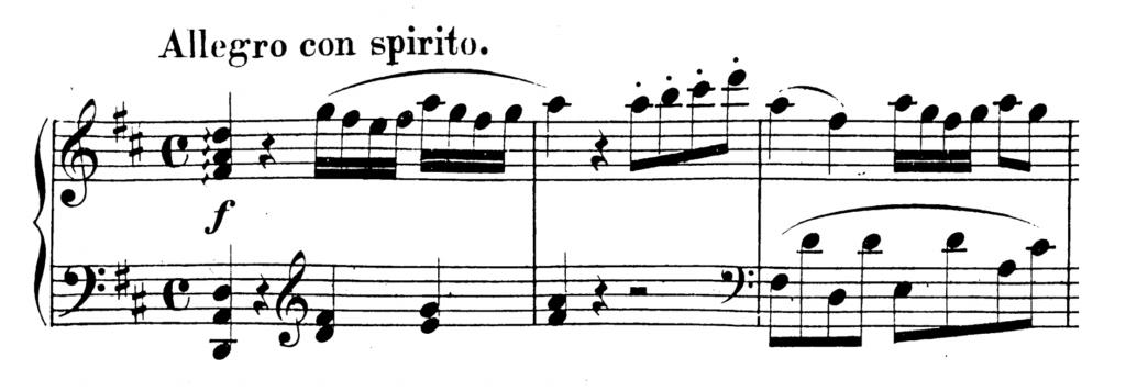 Mozart Piano Sonata No.9 in D major, K.311 Analysis 1