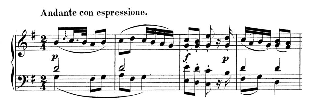 Mozart Piano Sonata No.9 in D major, K.311 Analysis 2