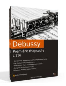 Debussy Premiere Rhapsodie Box