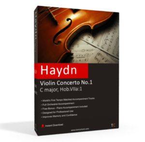 Haydn, Violin Concerto No.1, C major, Hob.VIIa.1 Accompaniment