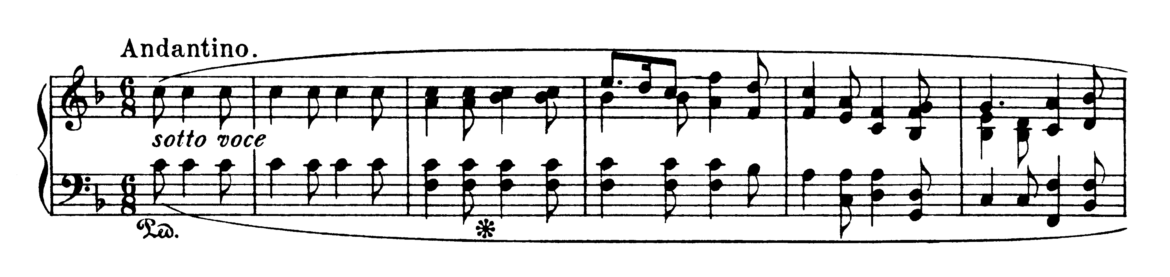 Chopin Ballade No.2 in F Major Op.38 Analysis